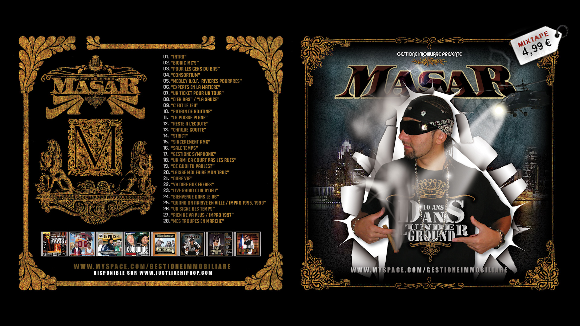 "Masar ""10 ans dans l'underground"" (Best of CD)"