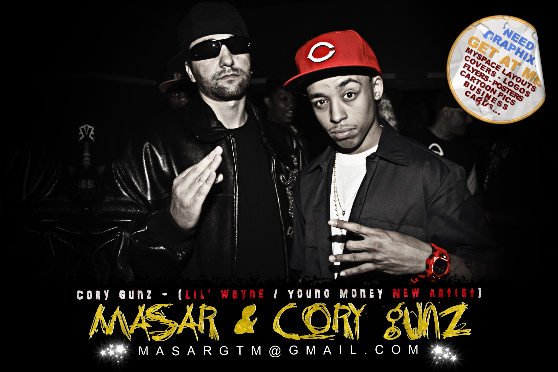 "Lagato Shine & Cory Gunz ""Live @ ESCHS"" 