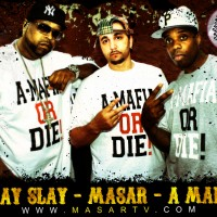 Dj Kayslay, Masar @ A Mafia &quot;King Of My City&quot; Video Shoot [Directed By Masar]