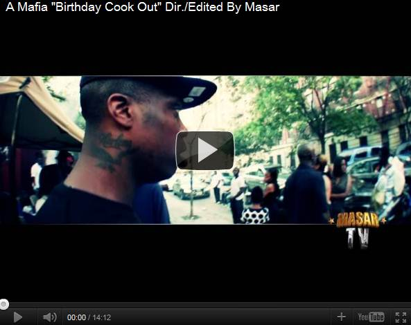 "A Mafia ""Birthday Cook Out"" Dir./Edited By Masar"