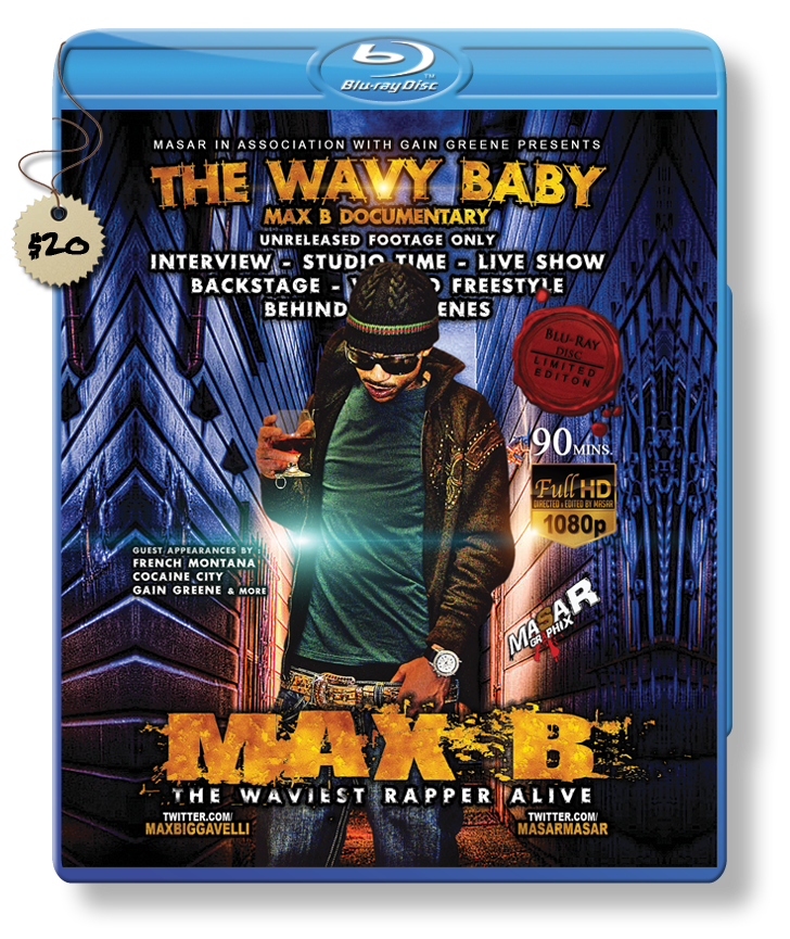 "Max B ""Wavy Baby"" Blu-ray Vol 1 