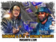 F.T. of Street Smartz & Masar in the studio working [Tru Criminal Records - Stand Out]