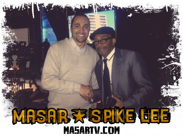 Director Masar & Spike Lee