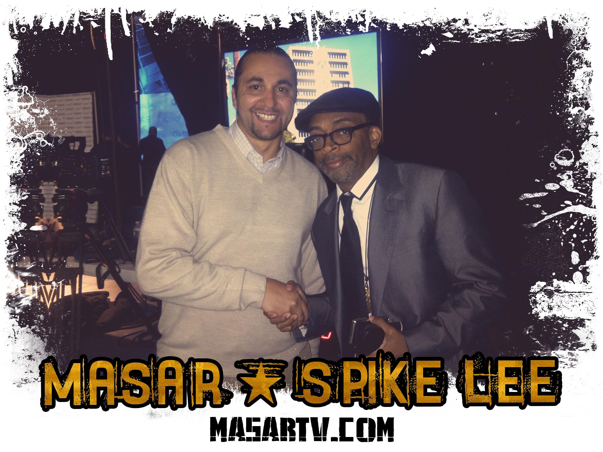 Director Masar & Spike Lee