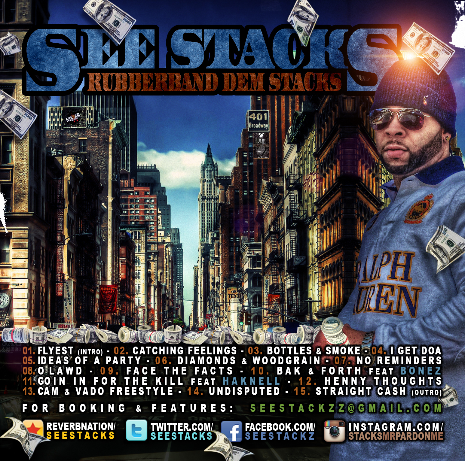 See Stacks CD Cover designed by Masar