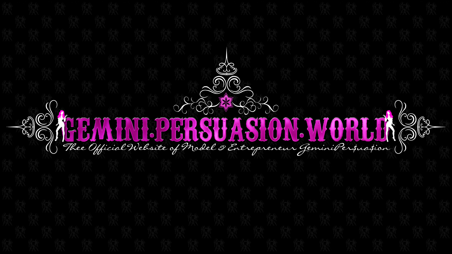 Gemini Persuasion - Banner designed by Masar