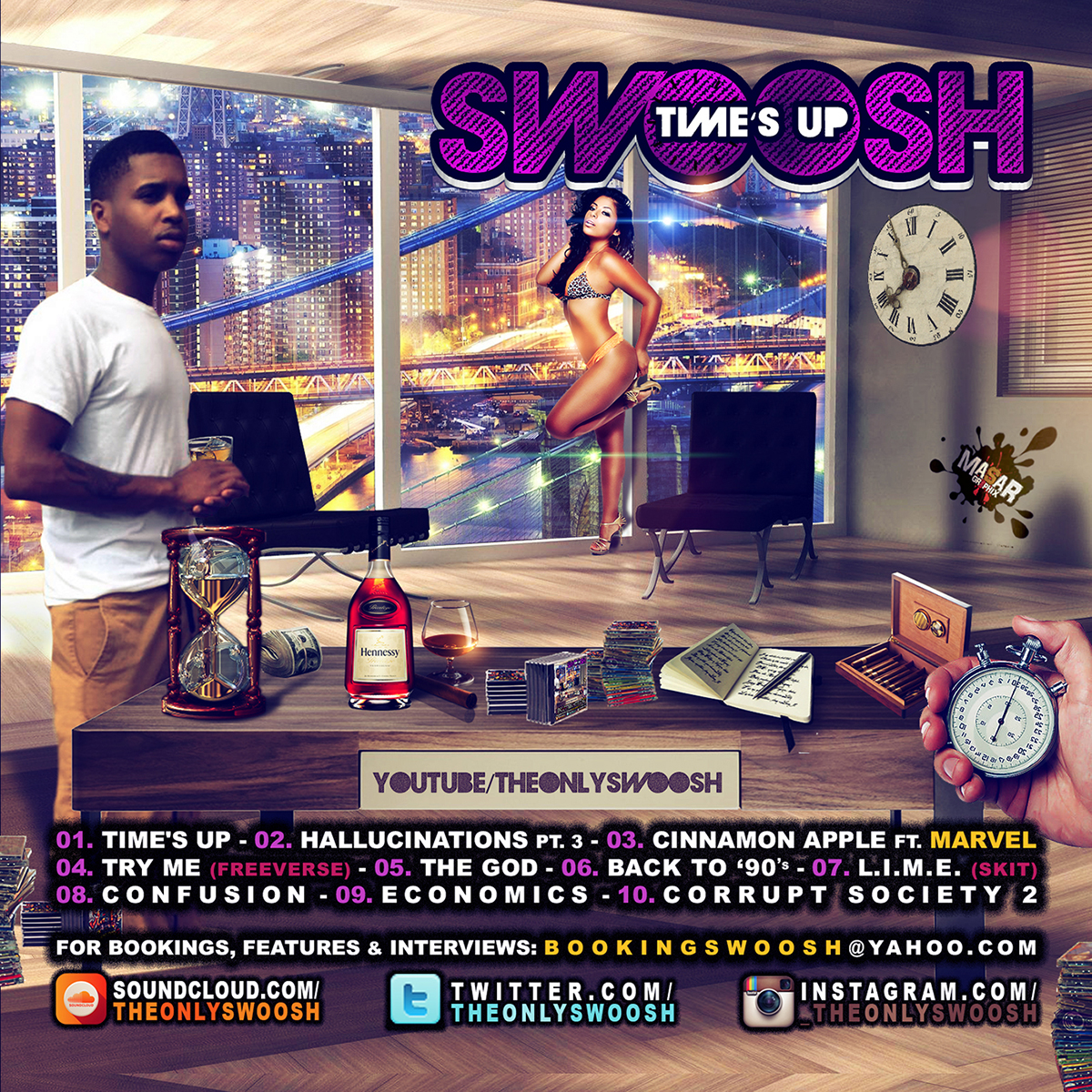 "Swoosh ""Time's Up"" 