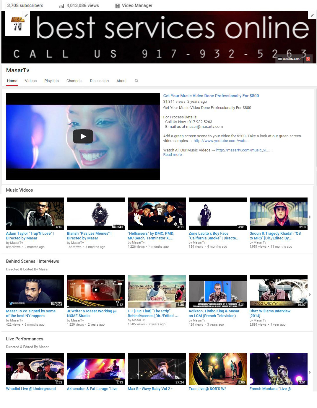 4 million views on Masar Tv YouTube Channel
