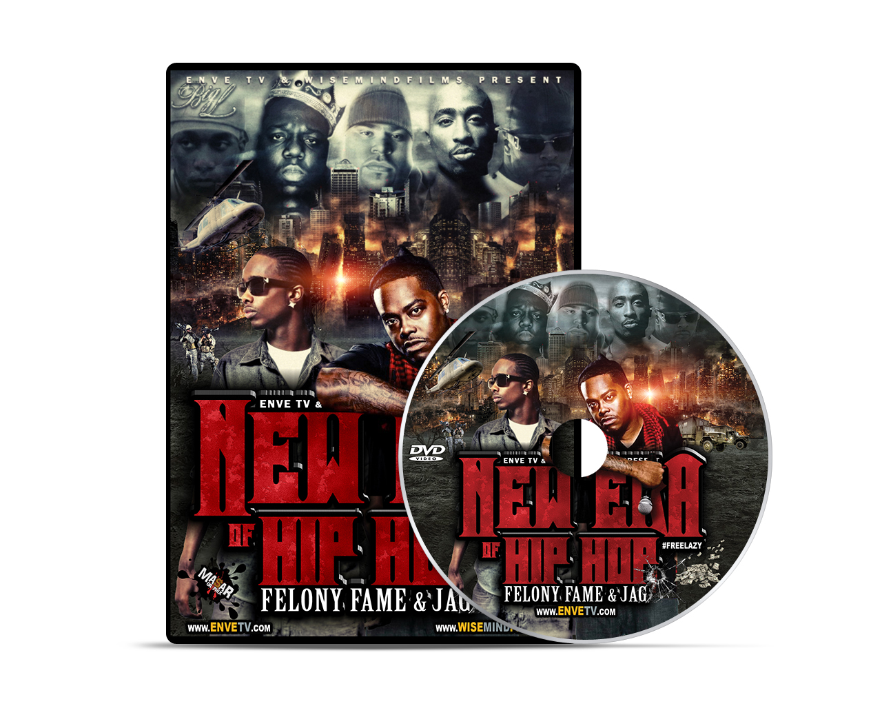 "Enve Tv ""New Era Of Hip Hop"" DVD 