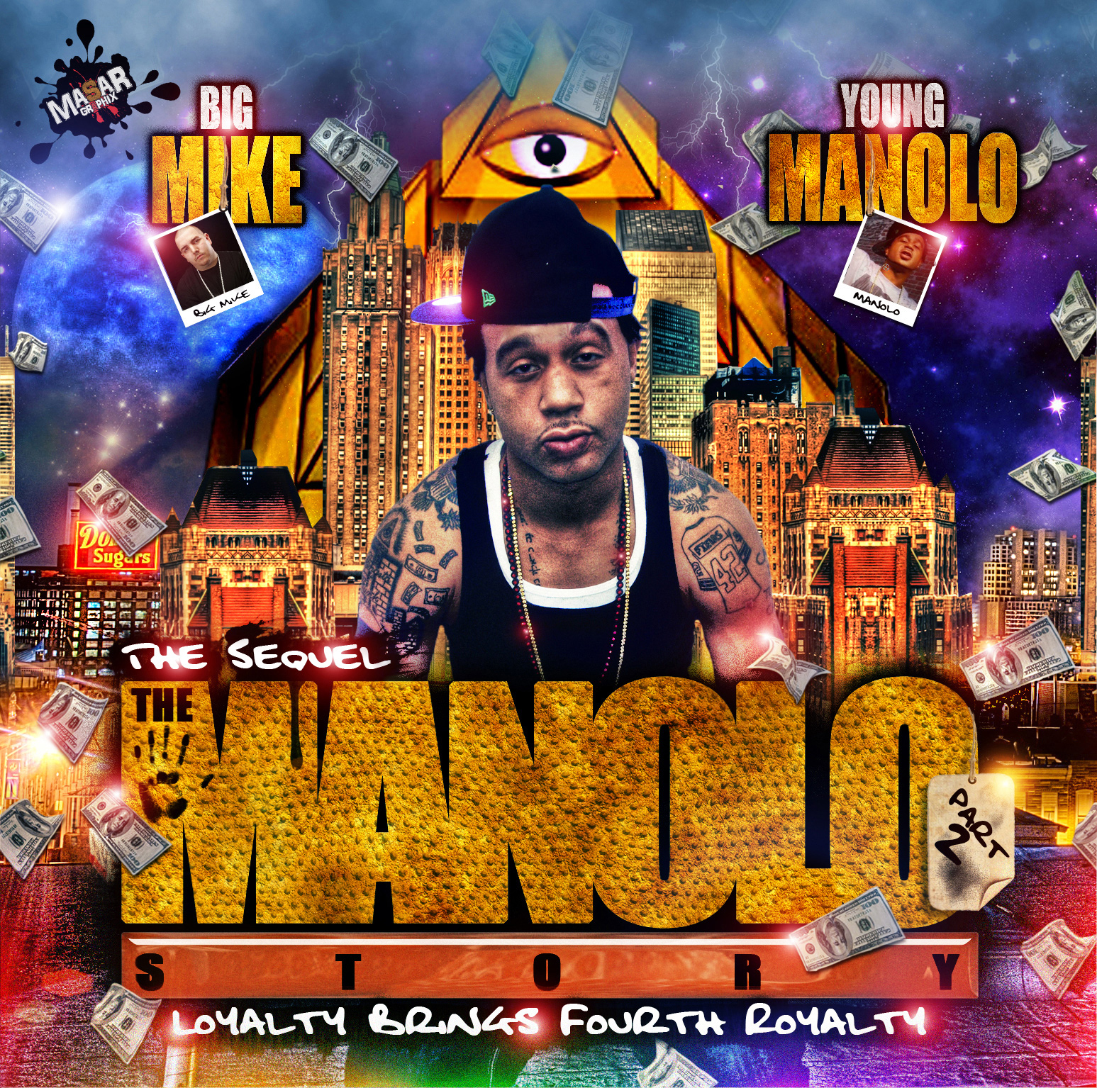 "Young Manolo ""Manolo Story"" Part 2 ft. Max B (Hosted by Big Mike) 