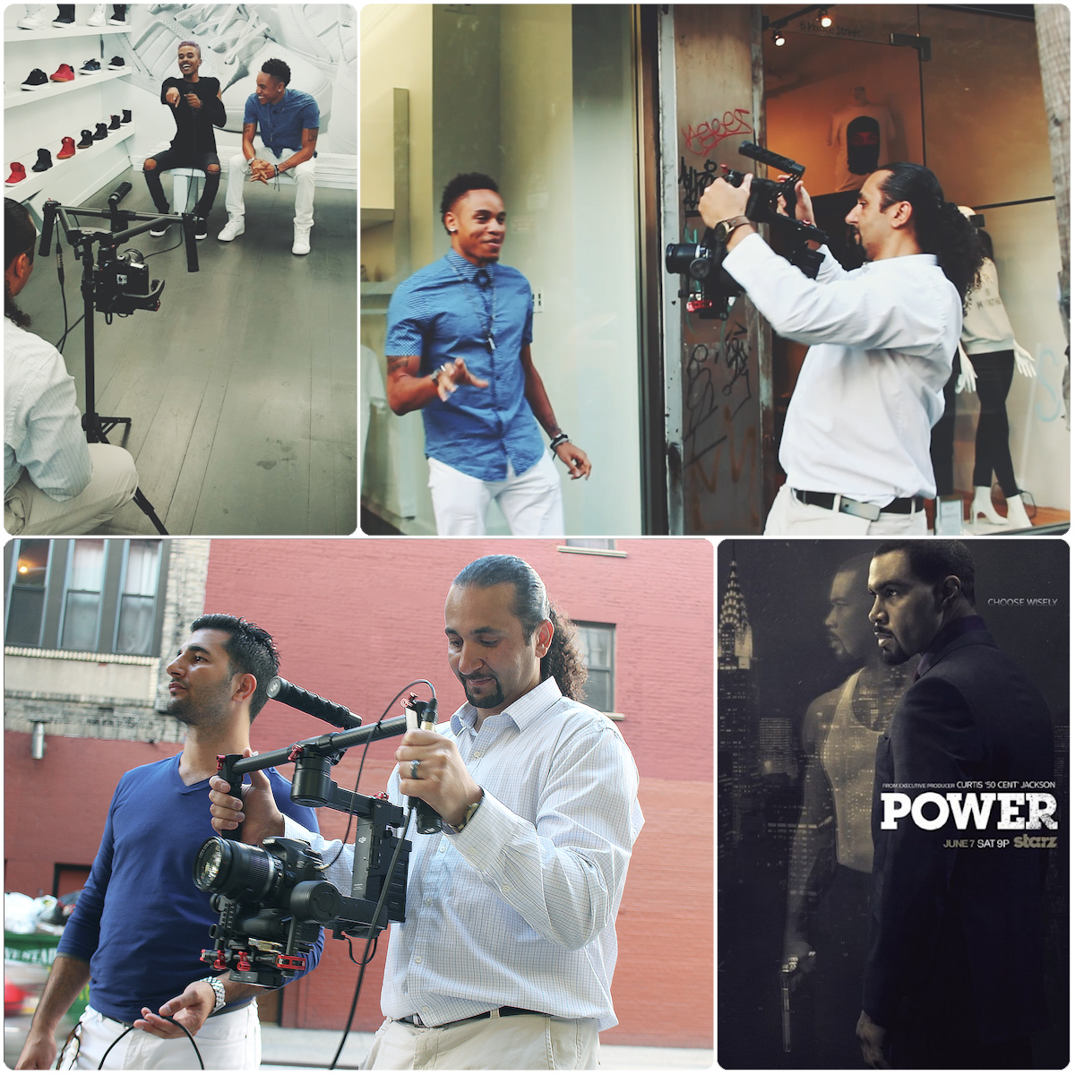 """Interview of Rotimi AKA Dre from Tv show """"Power"""" Season 2   Directed by Masar Tv"""