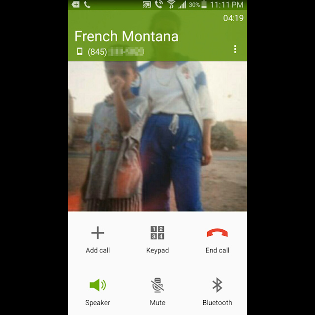 Masar on the phone with French Montana (Dec 19, 2015)