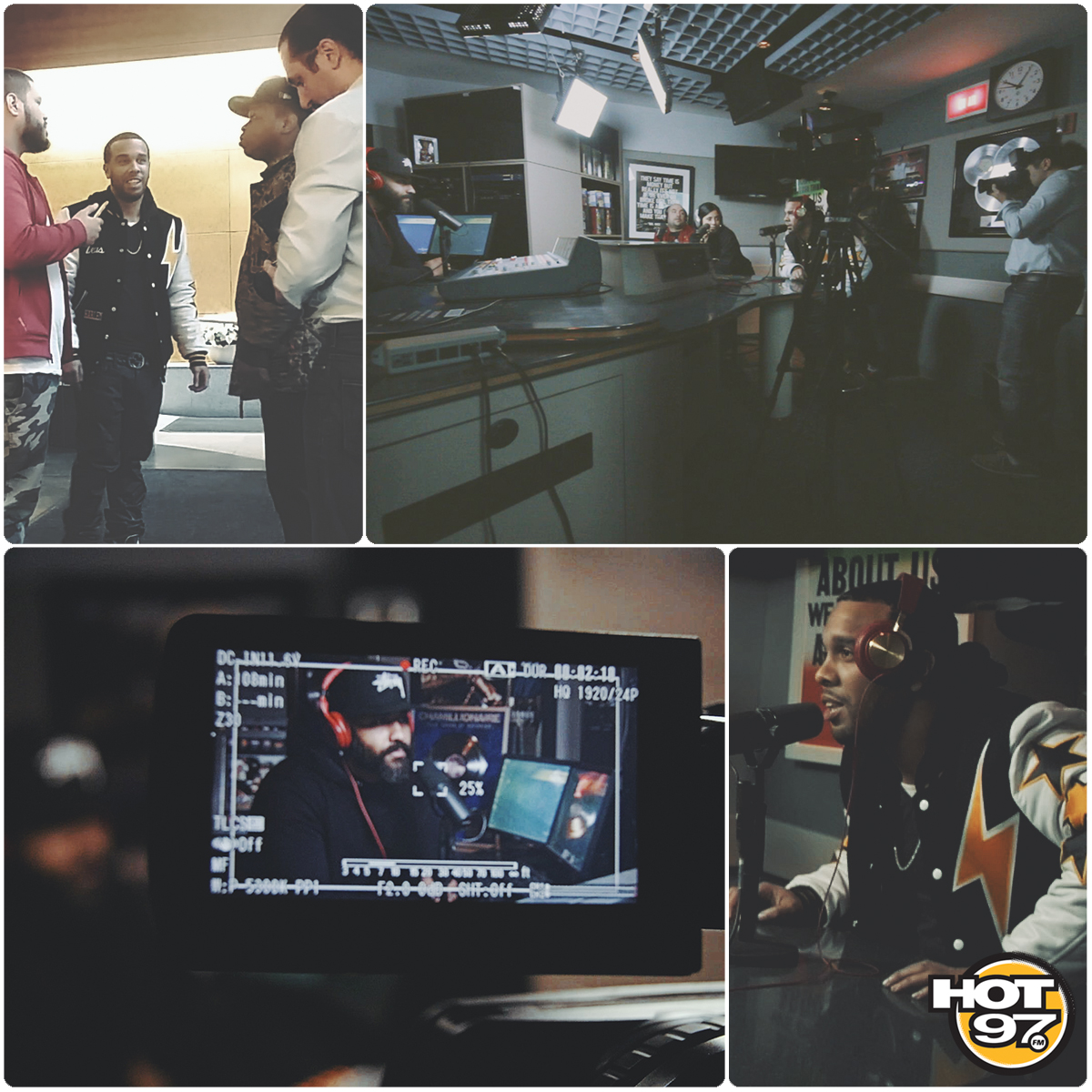 JR Writer Live on HOT 97 (Now on WSHH) | BTS filmed by Masar coming soon