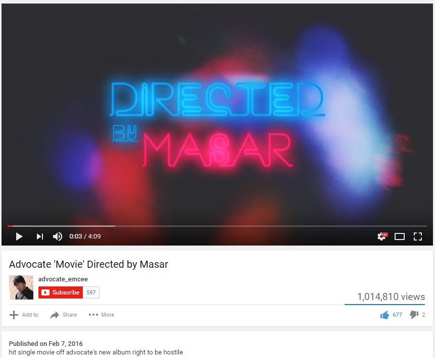 "Advocate ""Movie"" 