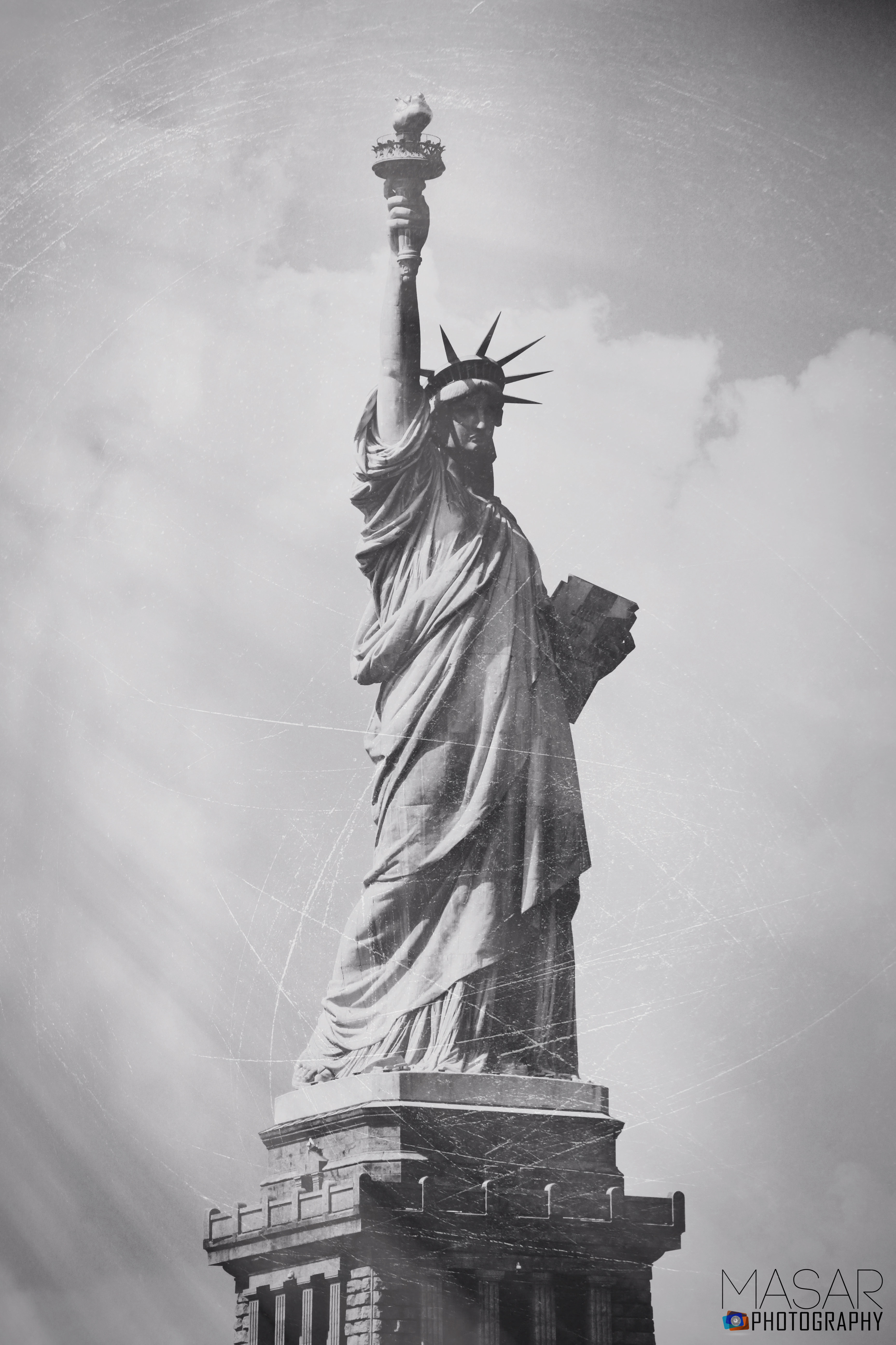 statue of the liberty masar tv photography
