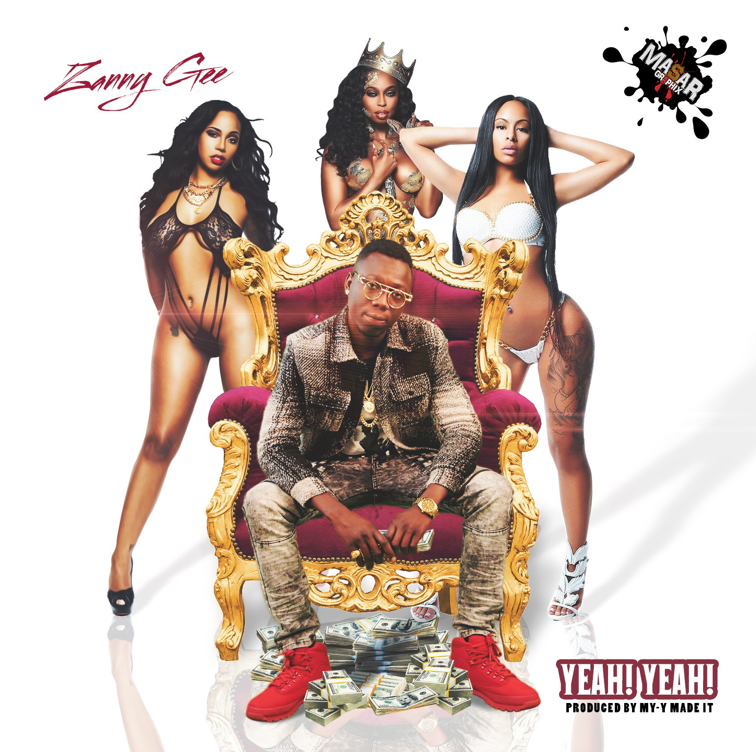 Zanny Gee - Yeah Yeah - Designed by Masar