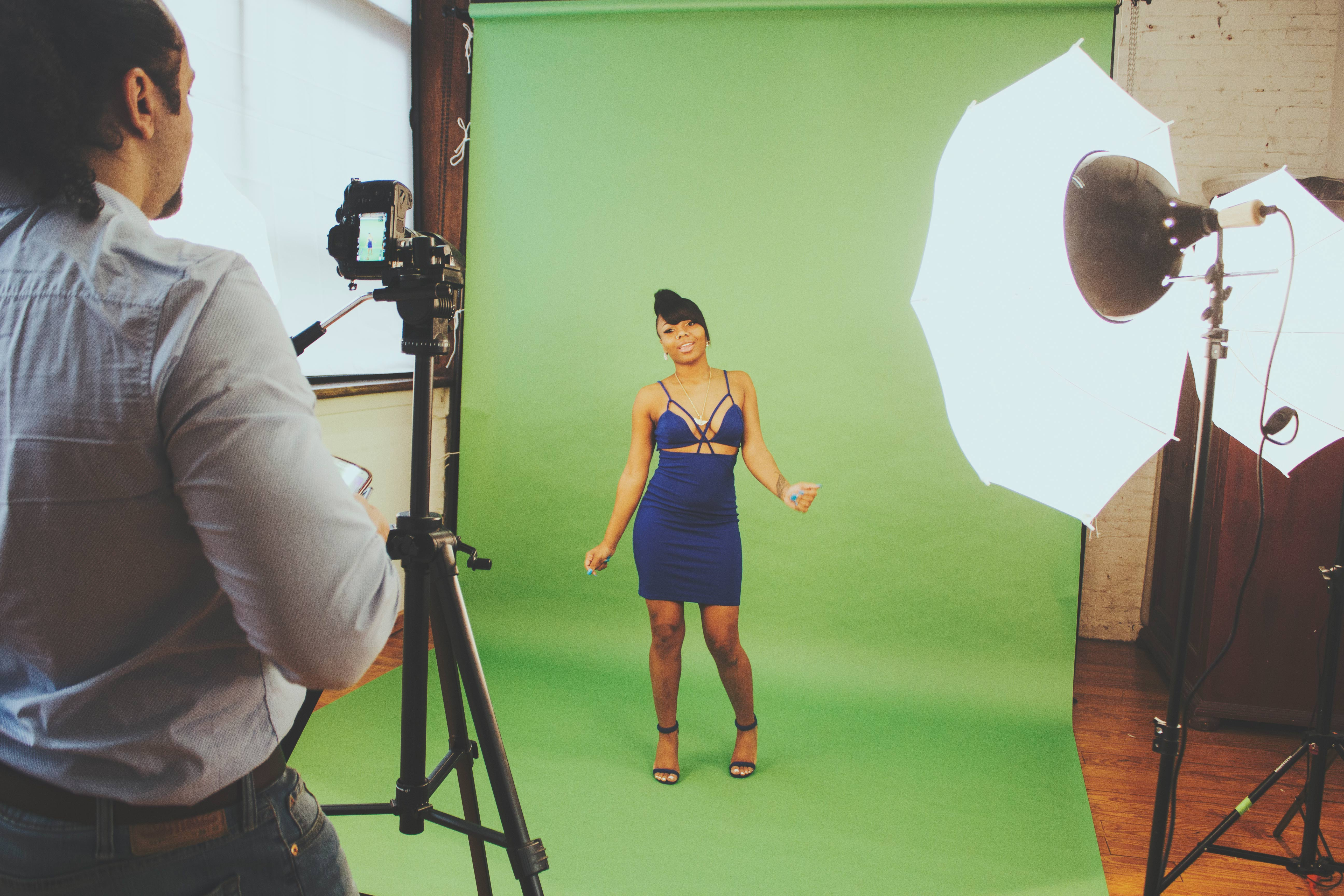 director-masar-tv-green-screen-music-video-shoot-ny