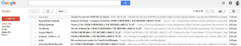 genius email masar tv verified account