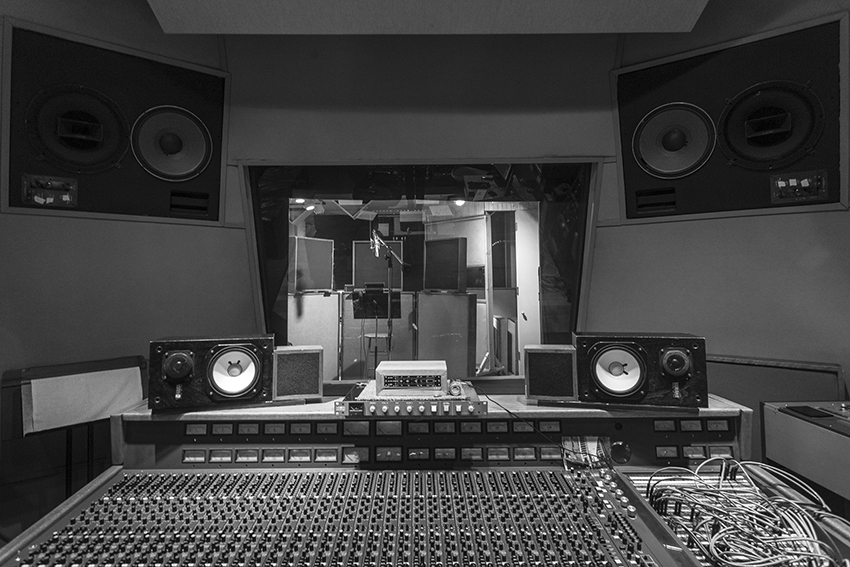 recording studio room a