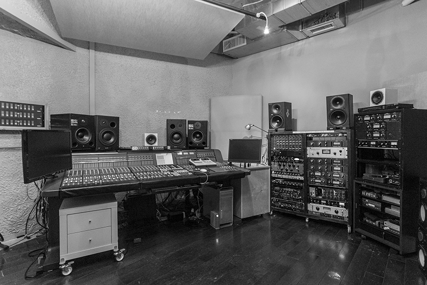 recording studio room b