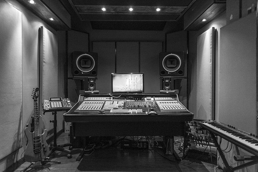recording studio room c