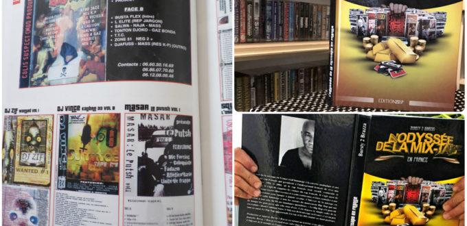 "Masar mentioned on French book ""L'Odyssée de la mix-tape"" by journalist Tiburce MAVOUNGOUD"